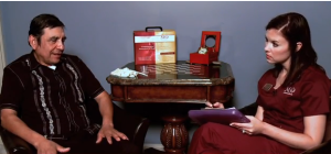 Speech Therapist Using MannaQure